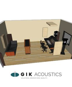 Room Kit #3 sets an excellent baseline for treating recording studios, 2-channel listening rooms, home theaters, and hi-fi listening rooms.