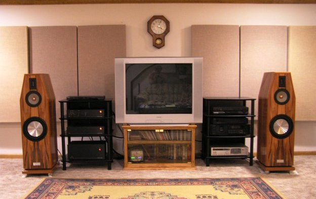 GIK Monster Bass Traps in Home Theatre