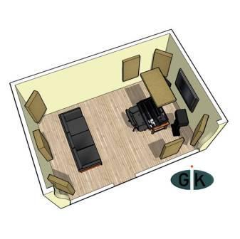 GIK Acoustics Room Kit #1 sq