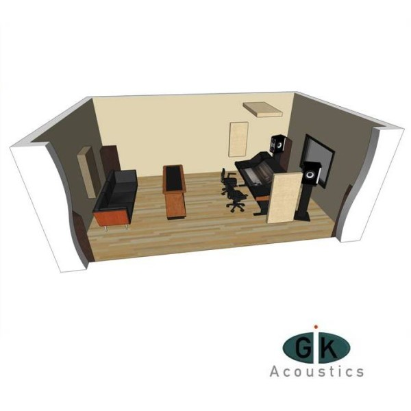GIK Acoustics Room Kit 3 sq