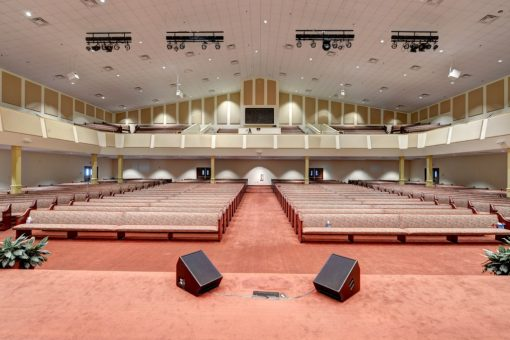 GIK Acoustic Panel Antioch Baptist Church