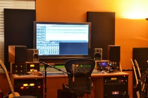 242 Acoustic Panels in Home Studio