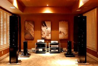 GIK Acoustics Listening Room