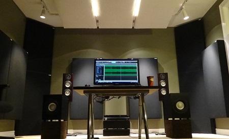 JustMastering front GIK Acoustics