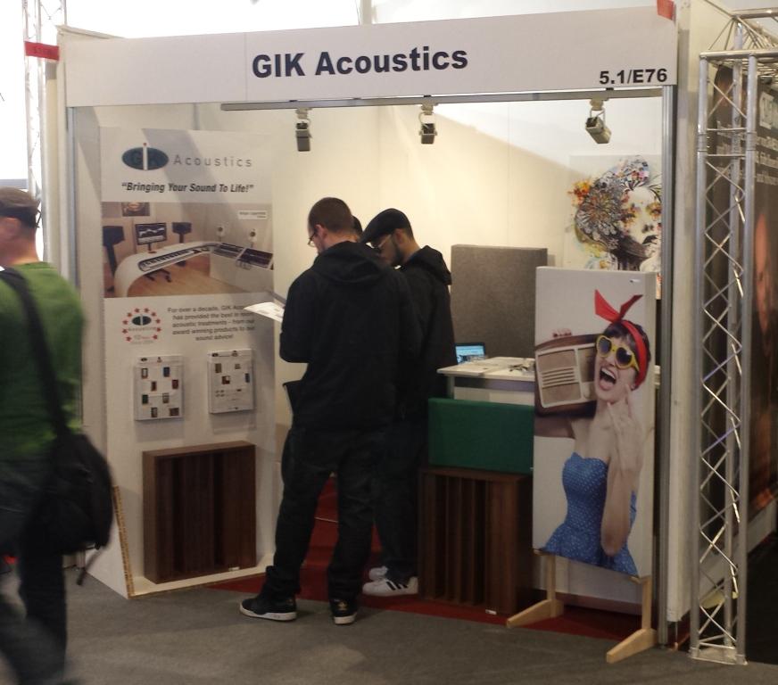 GIK Booth 5.1 E76 Musikmesse