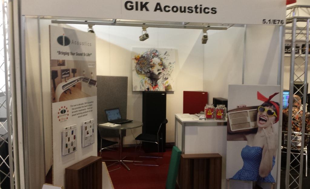 GIK Booth 5.1 E76