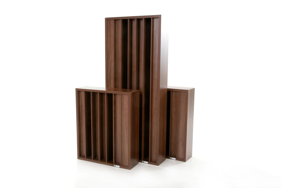 Two GIK Acoustics Demi Q7d Diffusors with standard, full size Q7d Diffusor