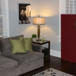 GIK FreeStand Acoustic Panel living room