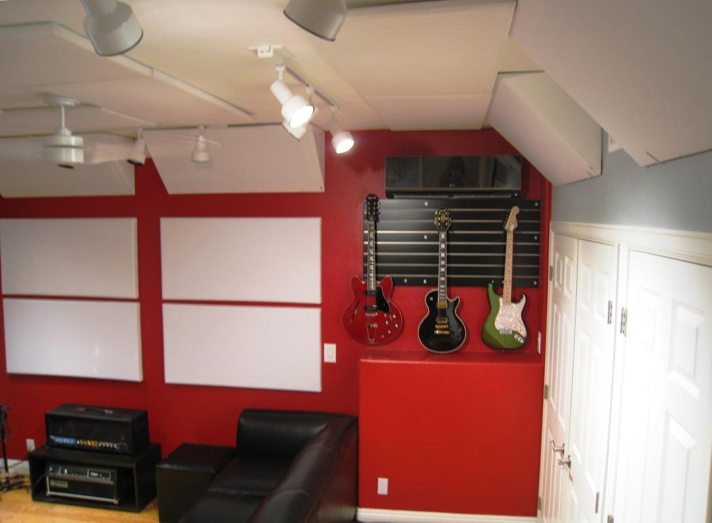 Mike Plas Studio 4 GIK Acoustics