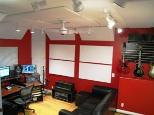 Mike Plas Studio 5 GIK Acoustics