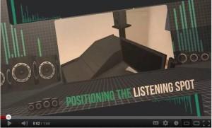 Positioning the Listening Spot