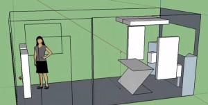 3D Sketch of Ian's Setup