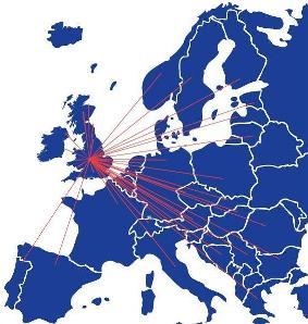 GIK Europe Shipping