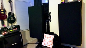 GIK 242 Acoustic Panel Beach House Studio Control Room