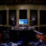 Bonzi Recording Front GIK Acoustics Evolution PolyFusor and 242 Acoustic Panels