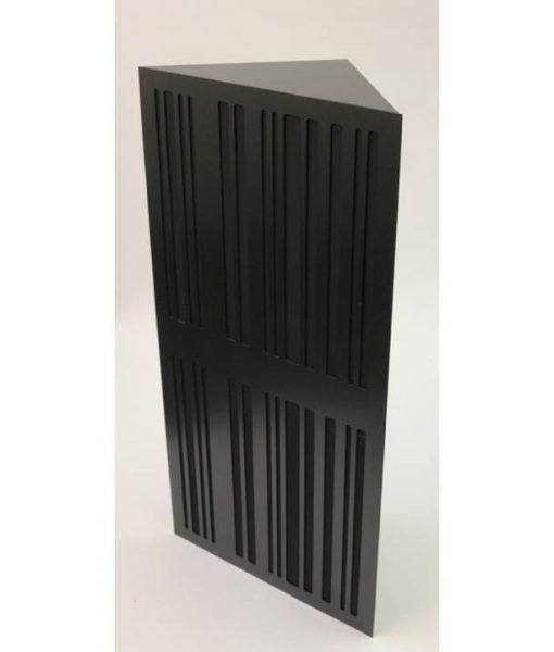 GIK Corner CT Alpha Bass Trap black plate black fabric sq