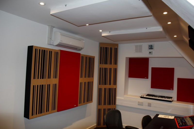 Abbey Road Ins S6 Studio GIK Acoustics Alpha Series and 242 Acoustic Panels