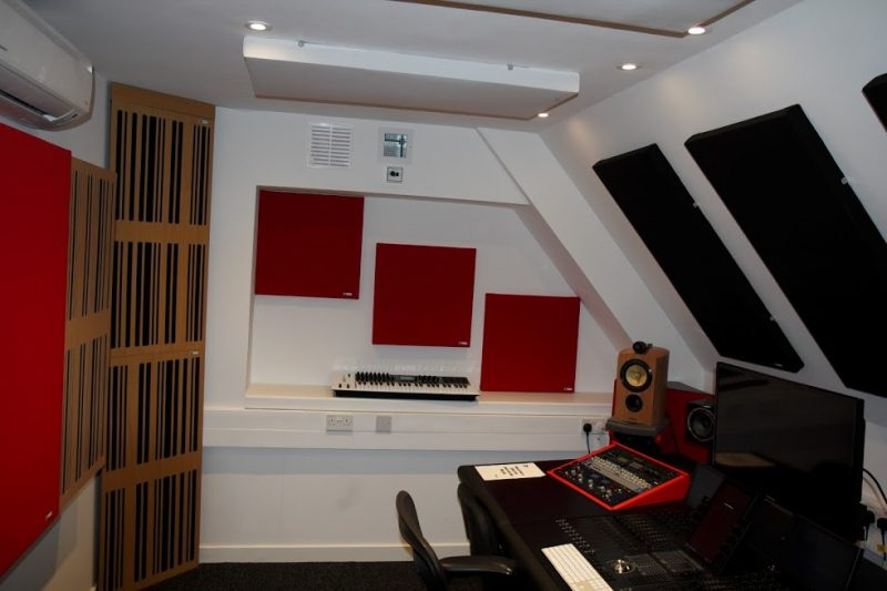 Abbey Road Ins S6 Studio GIK Acoustics Alpha Series and Spot Panels