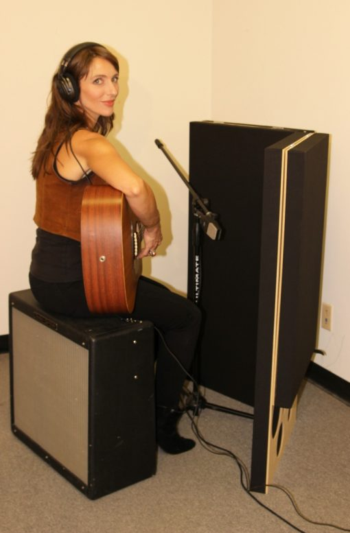 pib portable isolation booth guitar