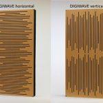 GIK Acoustics Impression Series Digiwave vertical and horizontal rectangle