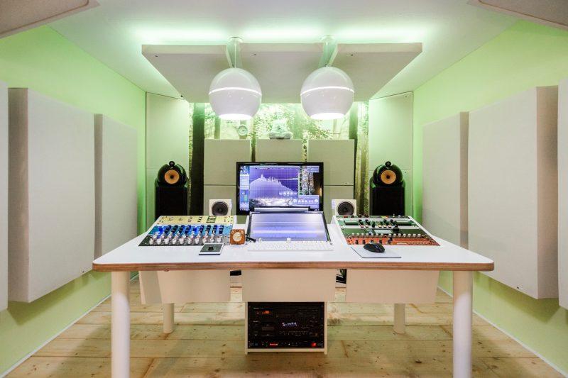 Da Goose Music Studio overview GIK Acoustic Panels