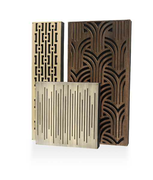 GIK Acoustics Impression Series Absorber Diffusor Combination Acoustic Panels