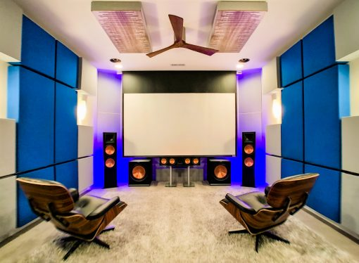 Home Theater Room setup Richard Fox