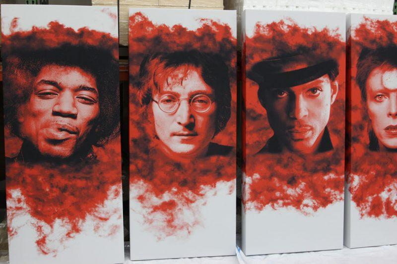 GIK Acoustics Art panels singers artwork acoustic panels