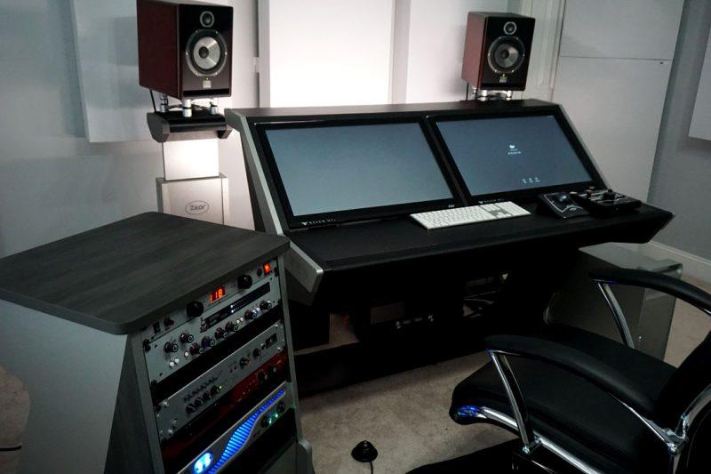 GIK Acoustics in Jeremiah Albrittons studio