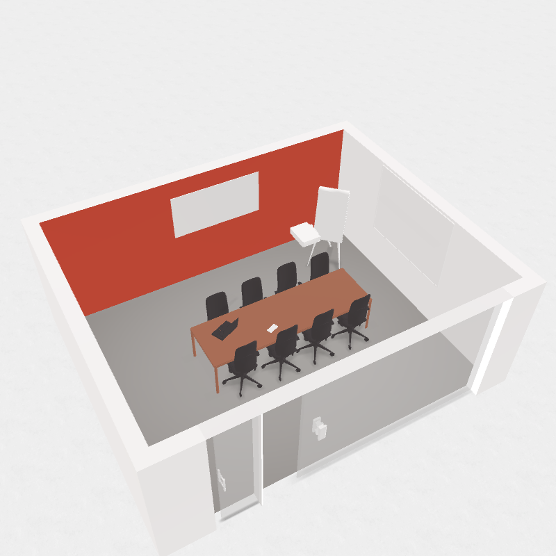 GIK Acoustics Conference Room Plan