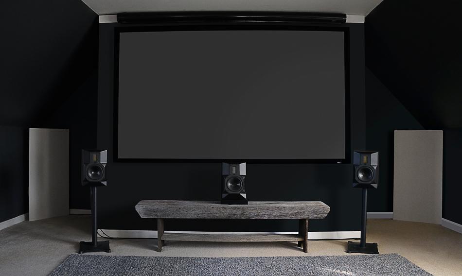 Home Theatre Home Cinema Room Acoustics with GIK Acoustics treatments
