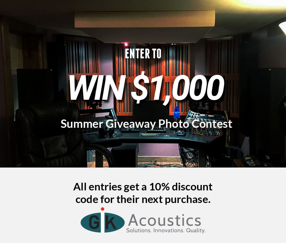 GIK Acoustics Summer Giveaway Photo Contest 2019 - GIK Acoustics Europe