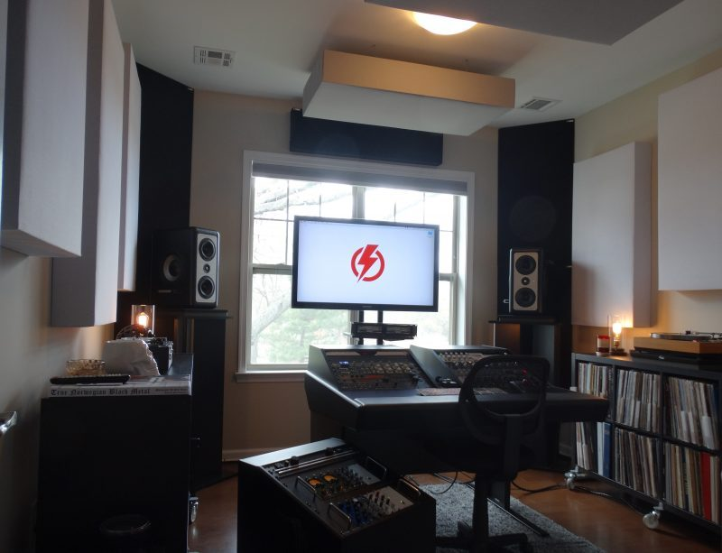 Tiny Thunder Audio with Bass Traps by GIK Acoustics