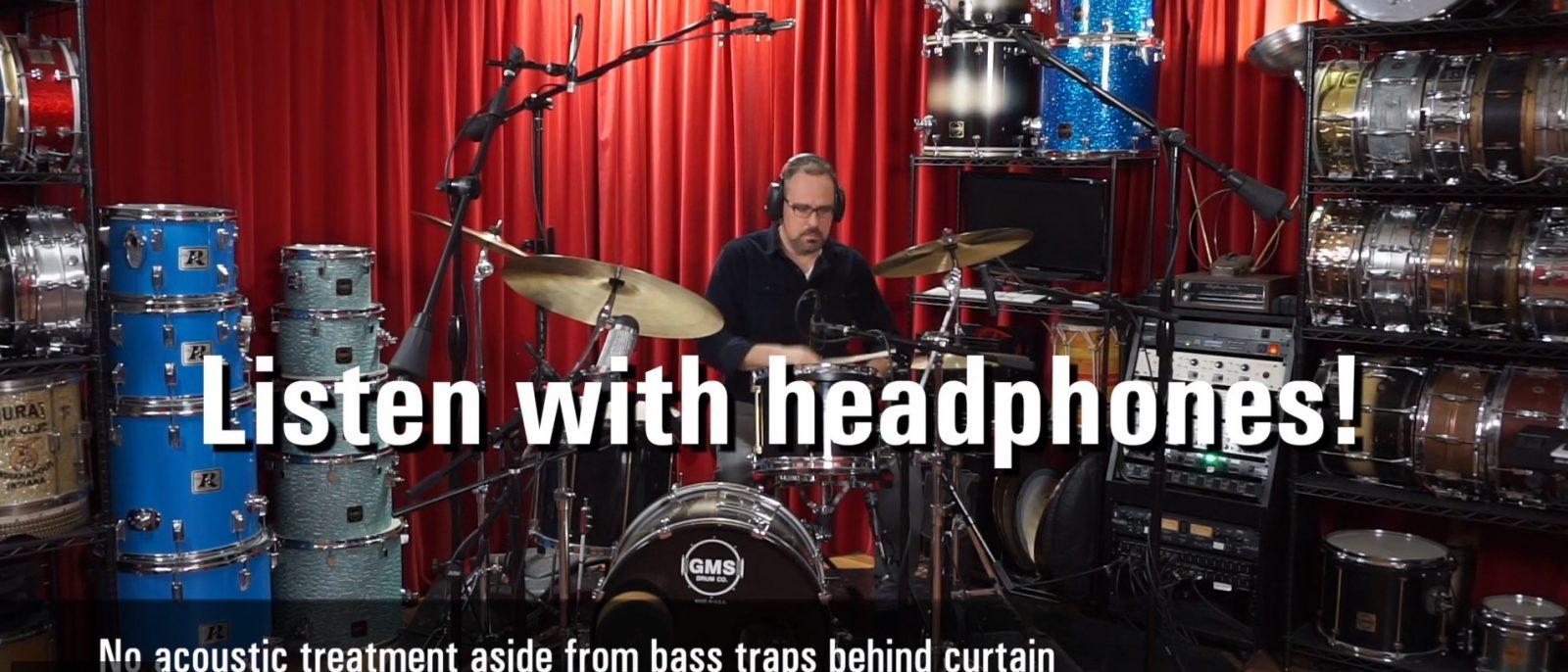 GIK Acoustics Drum Recording with Acoustic Treatments