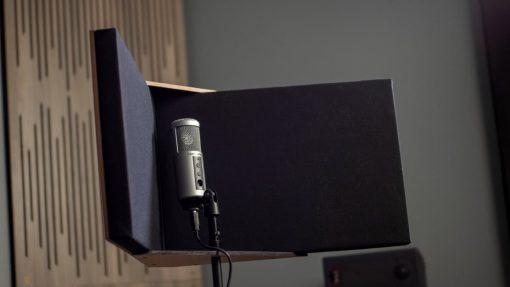 GIK Acoustics VISO Booth inside angle