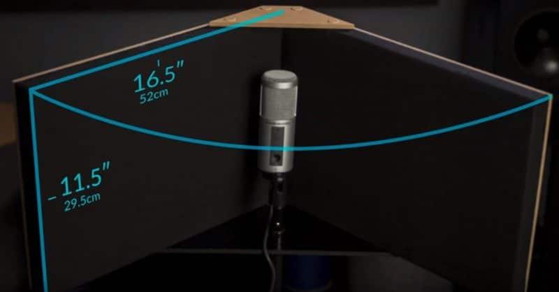 GIK Acoustics VISO Booth measurements