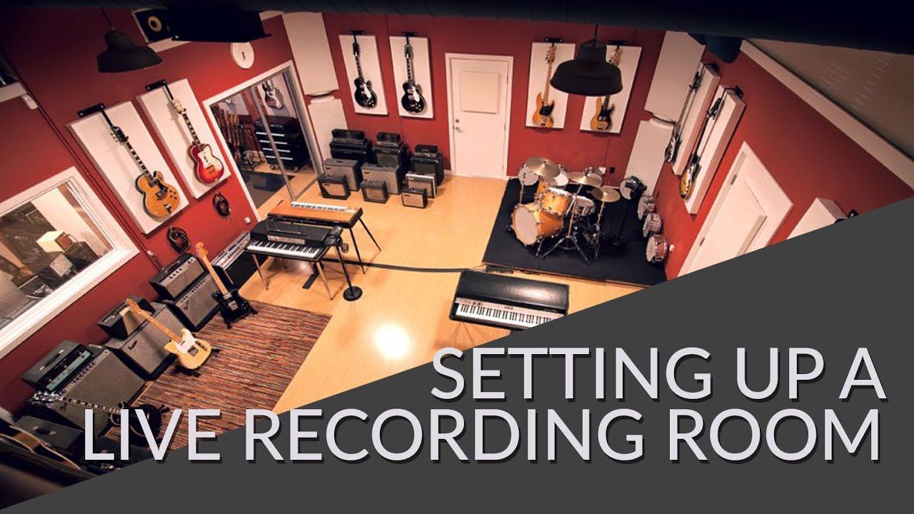 Acoustically Setting up a Live Room